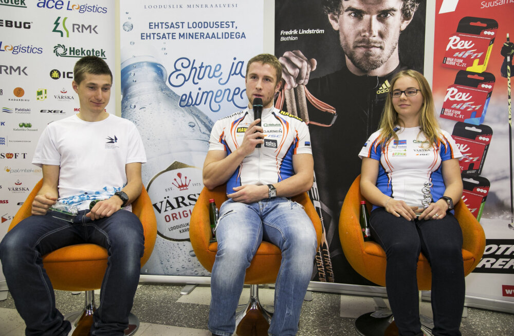 Vasakult Timo Sild, Lauri Malsroos ja Daisy Kudre
