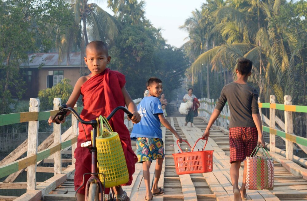 Märkmeid Myanmarist VII: Mrauk U udu võlus ja varjus