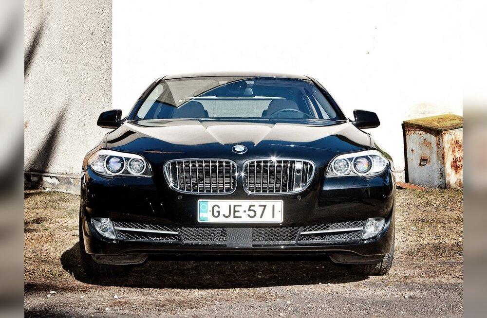 BMW viimane 5. seeria on esinduslikum kui eellane
