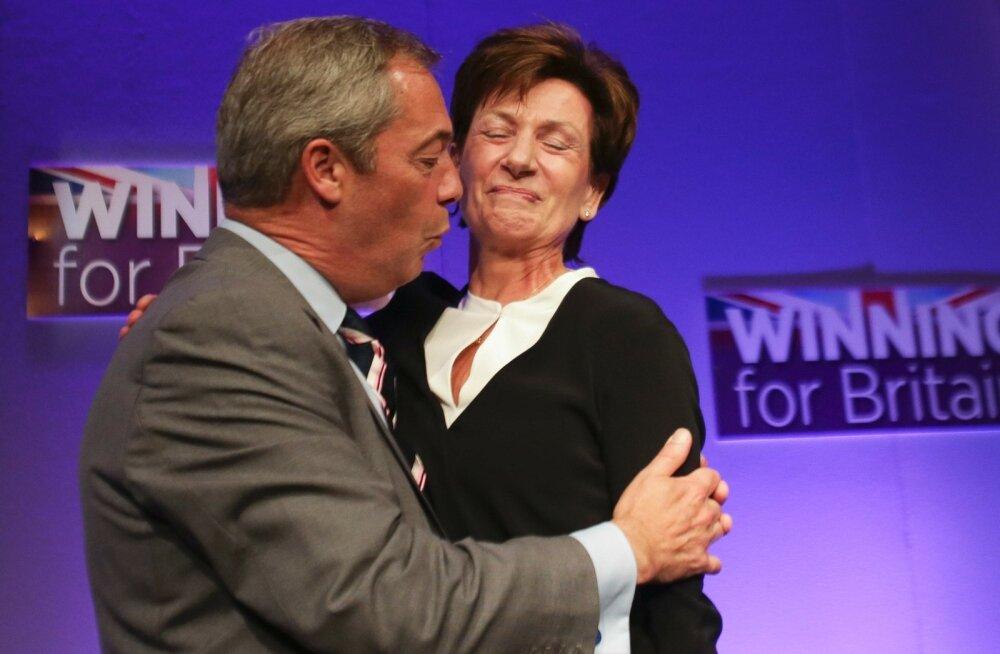 Brexiti-meelse Ühendkuningriigi Iseseisvuspartei uus juht pidas ametis vastu 18 päeva