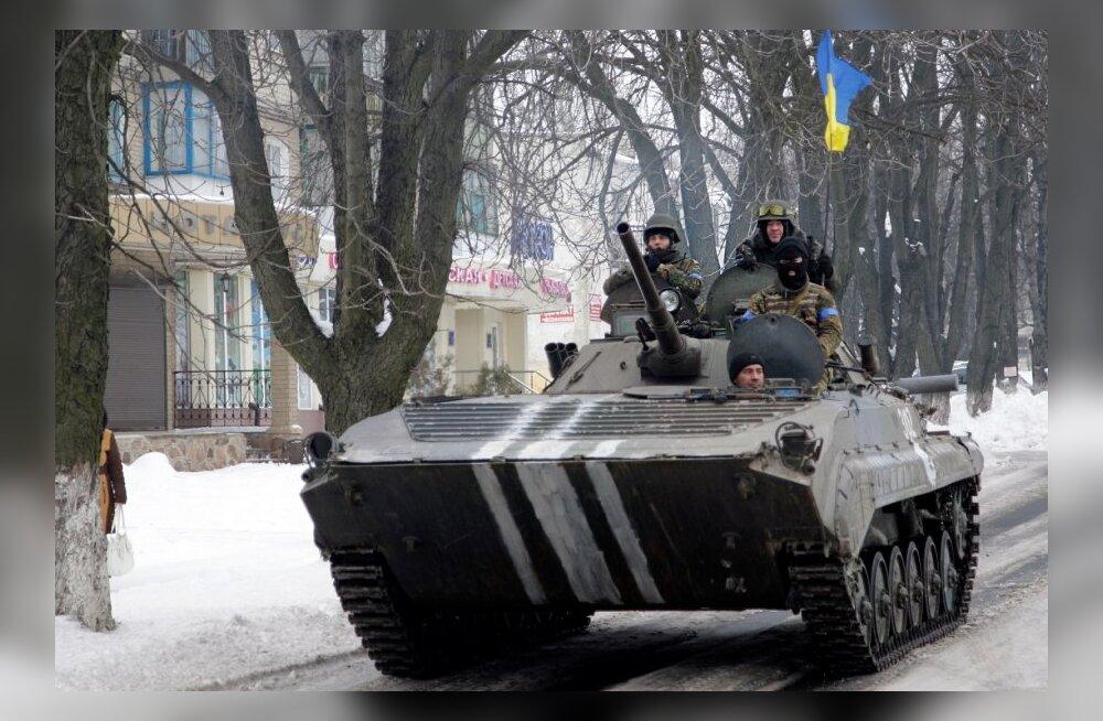 Ukraina jõud lõid tagasi rünnaku kontrollpunktidele Gorlivka juures