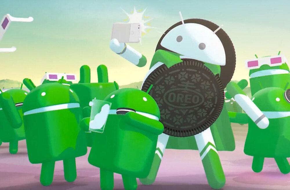 Android 8 saab peagi aastaseks ja ilmumas on selle troonipärija; kui laialt opsüsteem levida on jõudnud?