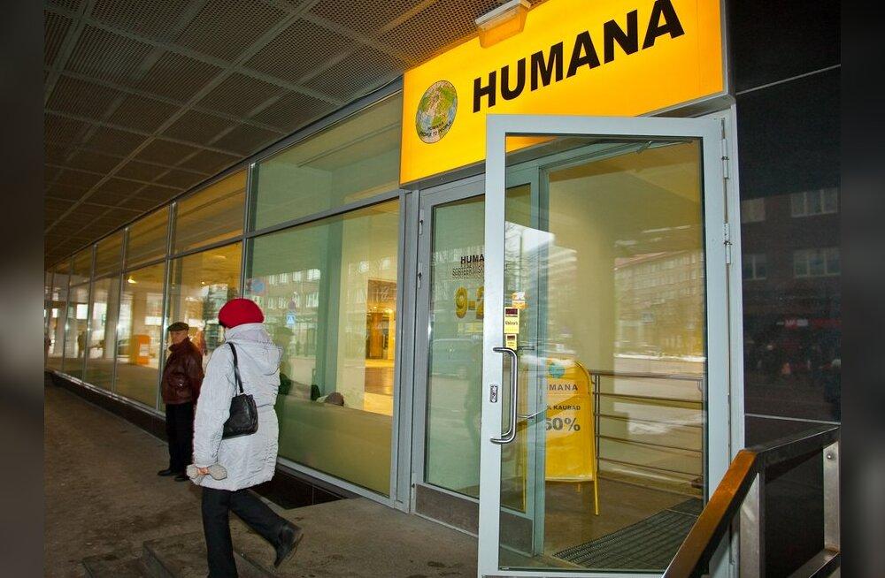 Humana avab Narva linnas kaupluse