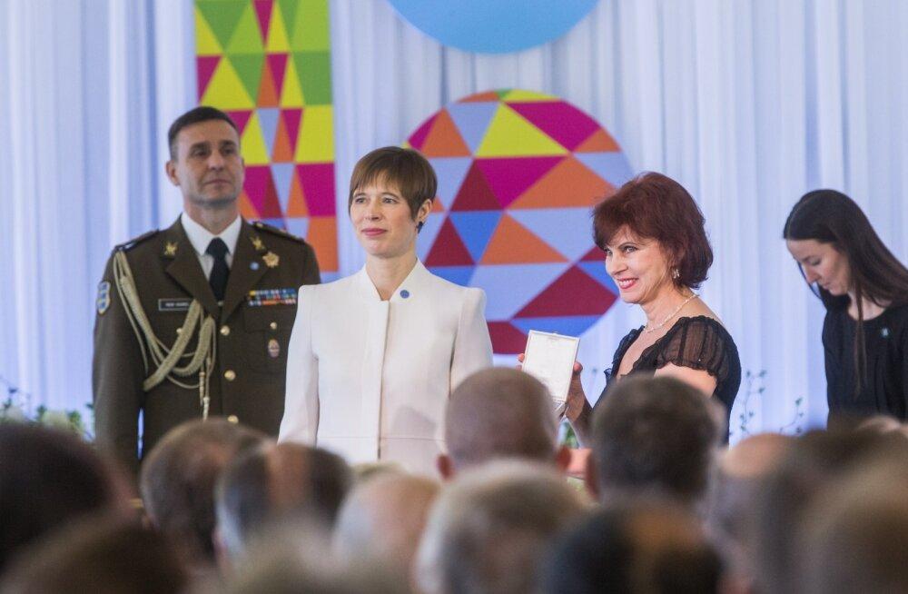 Teenetemärkide jagamine Narvas 2018