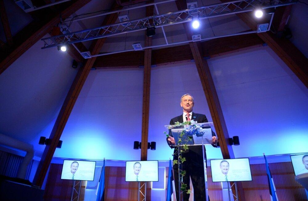 Siim Kallas rääkis rahvaga, tahaks olla President