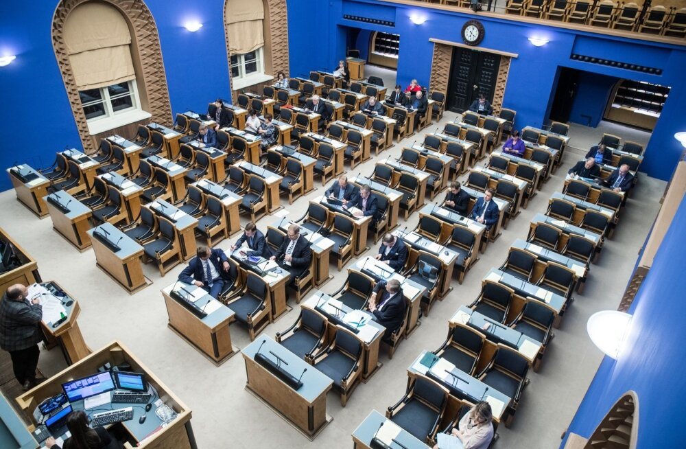 Eesti Vabariigi eelarve kolmas lugemine Riigikogus
