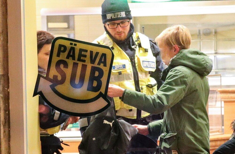 Alaealiste läbiotsimine Subways