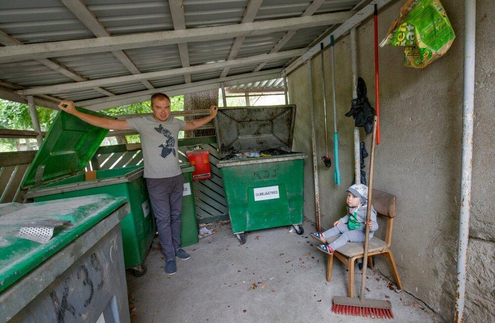 Kristo Elias on koos poja Jasperiga valmis pingutama prügivabama maailma nimel. Ta soovitab ametnikel võtta eeskuju Skandinaaviamaadest, kus inimestel on jäätmete sorteerimine võimalikult mugavaks tehtud ning neil ei ole vajadust otsida pakendikonteinerit