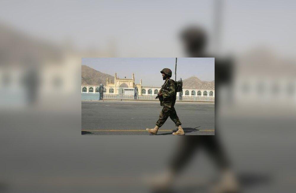 Taliban tulistas Kabuli rakettidega