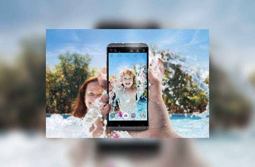 LG nutitelefon Q8: väiksem veekindlam variant tippmudelist V20 (tegelikult peaaegu sama mudel)