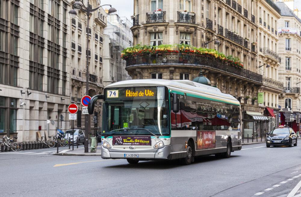 Pariisi linnapea plaanib Tallinna eeskujul tasuta ühistransporti