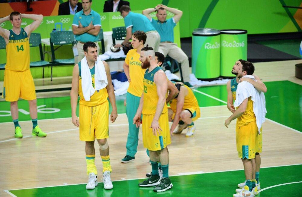 Austraalia korvpallurid