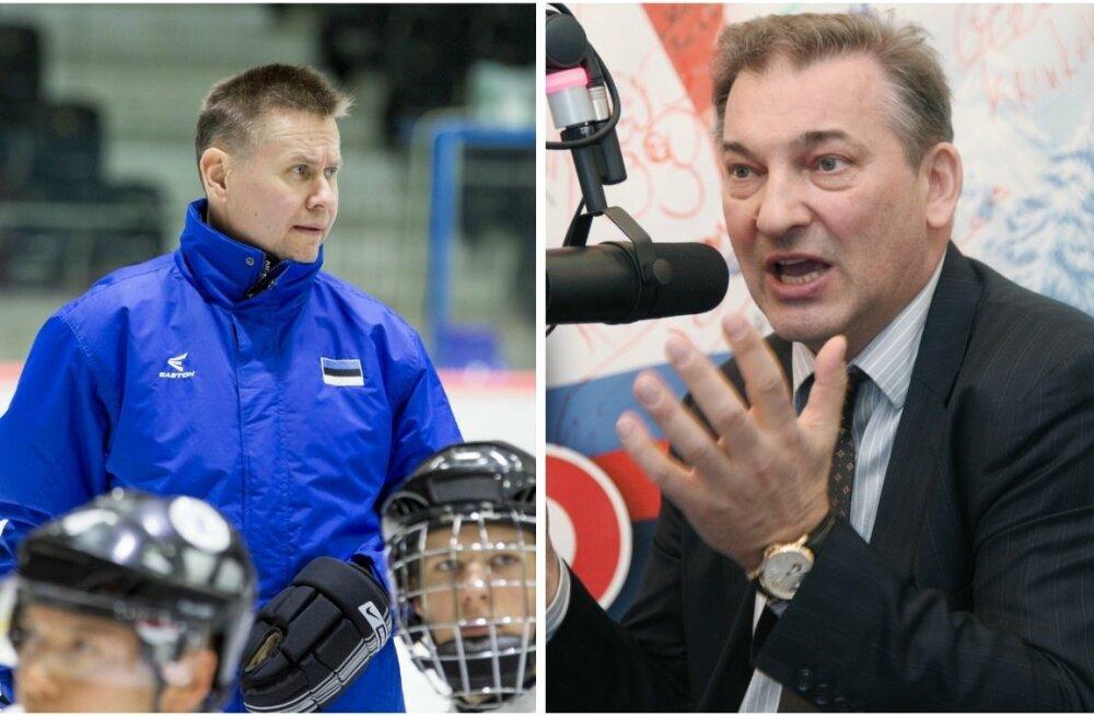 Andrus Ahi ja Vladislav Tretjak