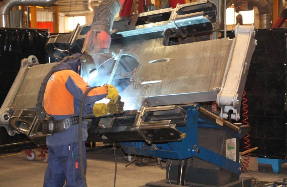 Fortaco Narva tehases toodetakse metalldetaile paljude riikide masinatööstustele.