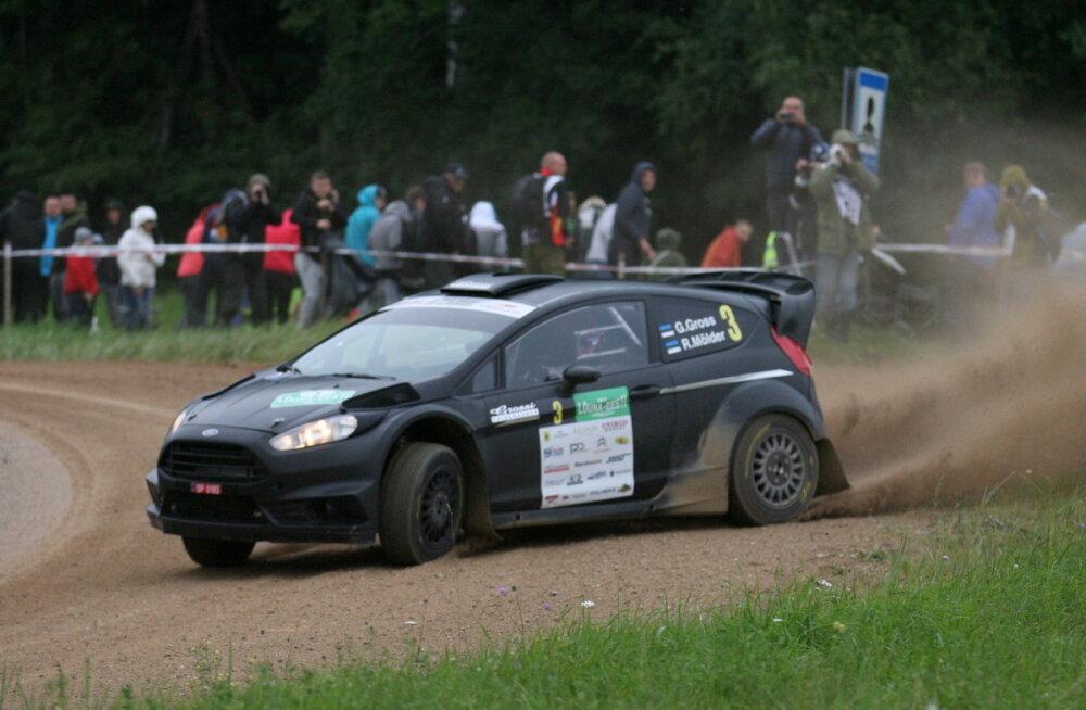 Eesti ja Läti autoralli meistrivõistlused jätkuvad Võrumaa teedel