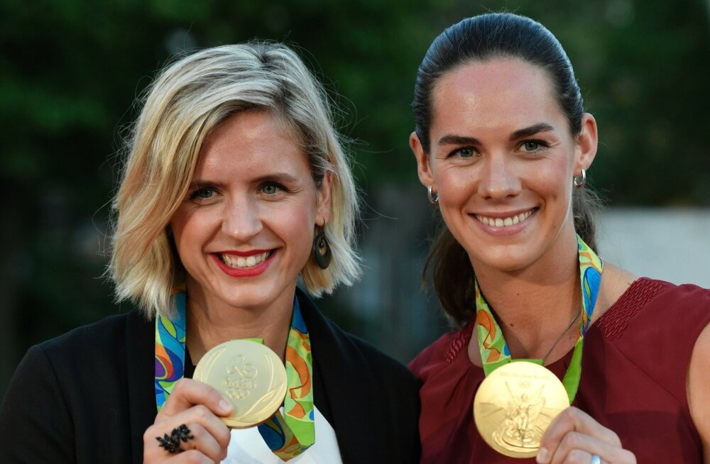 Laura Ludwig ja Kira Walkenhorst