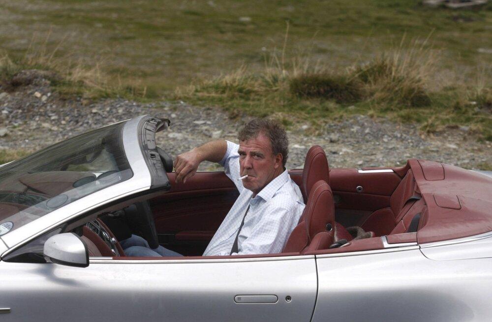 Clarkson aastal 2009 Aston Martini roolis