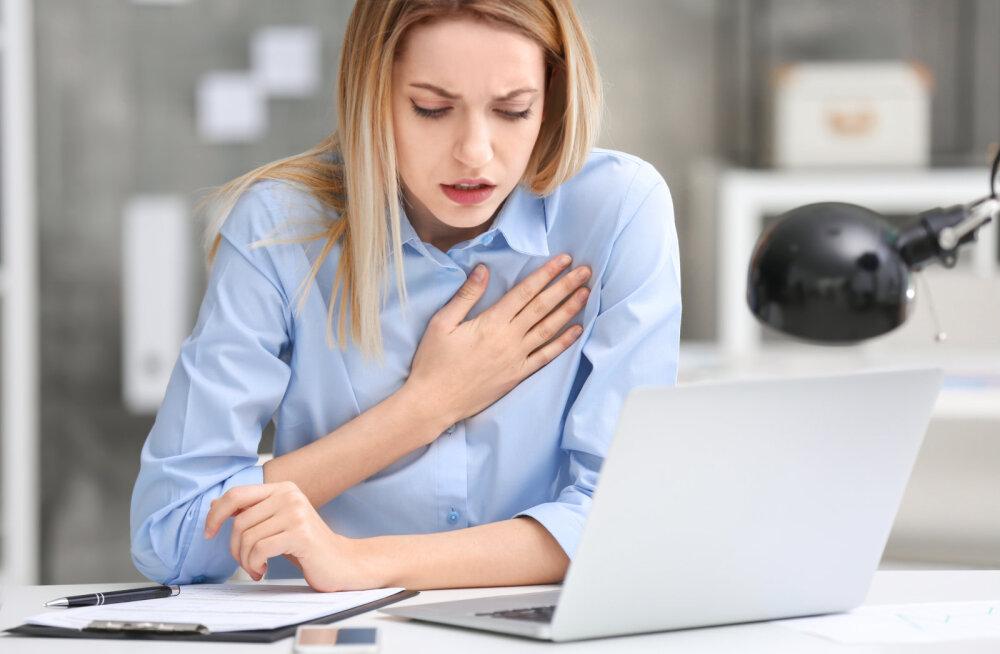 MÄRKA INFARKTI TUNNUSEID! Naiste ja meeste haiguspilt on erinev