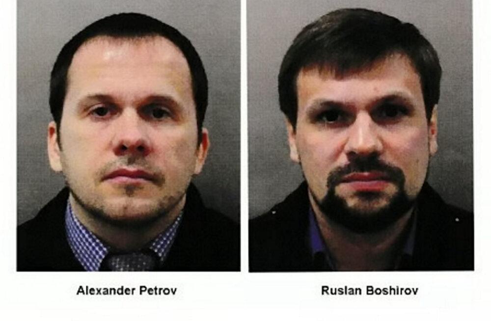 Briti võimud esitasid kahele venelasele Salisbury keemiarünnaku eest kuriteosüüdistuse