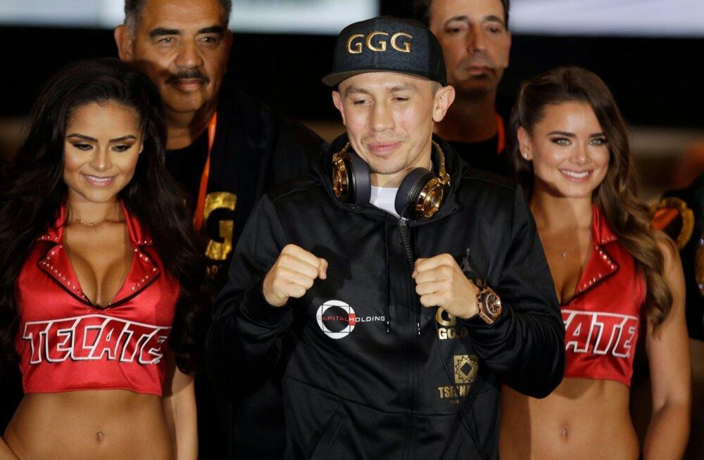 Gennadi Golovkin on suurmatšiks valmis.
