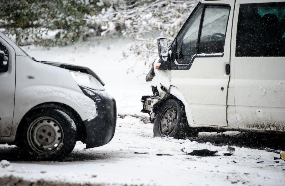 Enim liiklusõnnetusi juhtub selge ilmaga