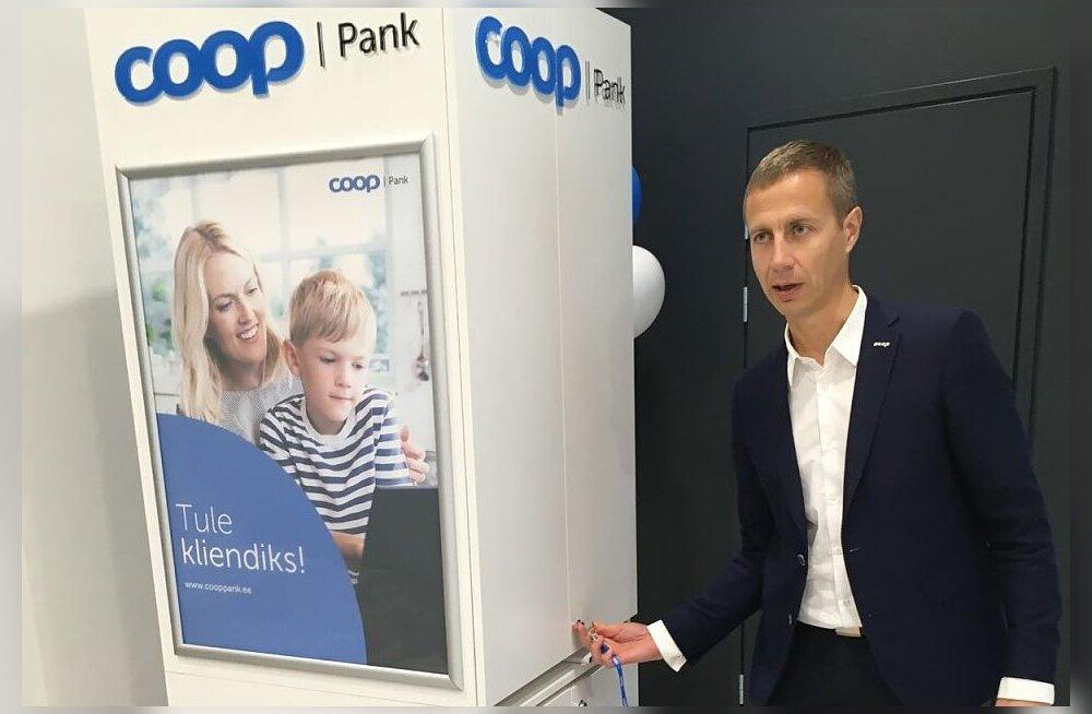 Coop avab kauplustes pangapunktidena paigast paika liigutatavad tehnoloogilised kapid