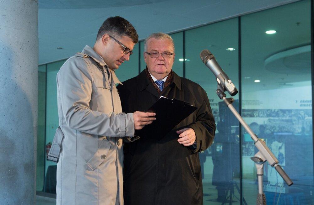 Корб: мы хотим, чтобы Сависаар баллотировался от Центристской партии