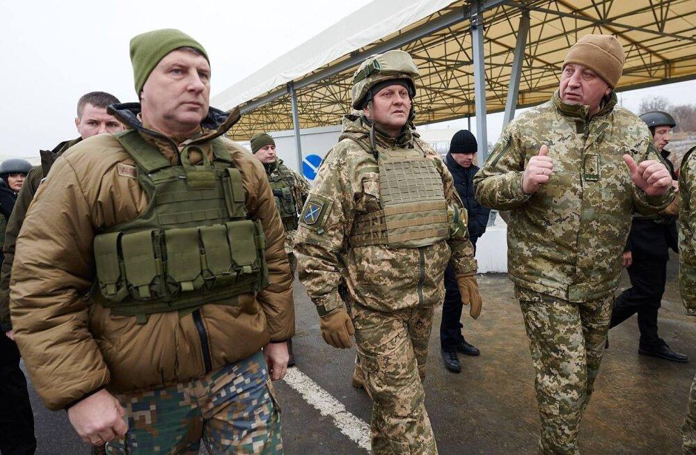 ФОТО: Президент Латвии посетил Донбасс
