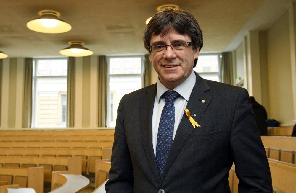 Saksa prokuratuur taotleb kohtult Kataloonia endise juhi Puigdemonti Hispaaniale väljaandmist