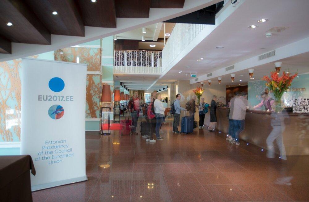 Eesistumise raames käib Eestist poolaasta jooksul läbi üle 20 000 külalise, Nordic Hotel Forum majutab neist ligi 3000.