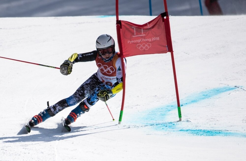 Tormis Laine debüteeris mullu olümpial, saades 17-aastaselt suurslaalomis 40. koha.