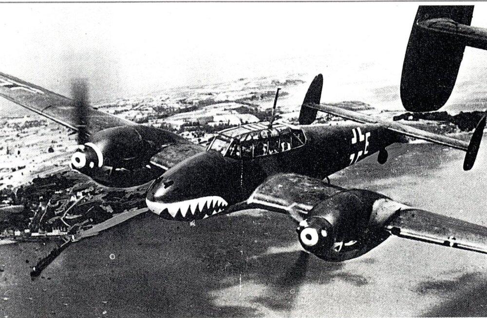 Luftwaffe lennukid ja nende relvad