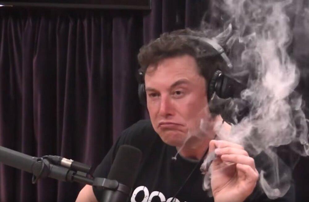 Elon Muski kanepisuitsetamine pani NASA lisakontrolle tegema