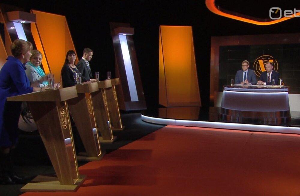 OTSEBLOGI | Valimishooaja esimene valimisdebatt ETV-s keskendub tervishoiule ja sotsiaalteemadele