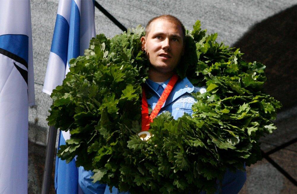 Gerd Kanteri tosin aastat tagasi Pekingis võidetud olümpiakuld on seni Eesti viimane.