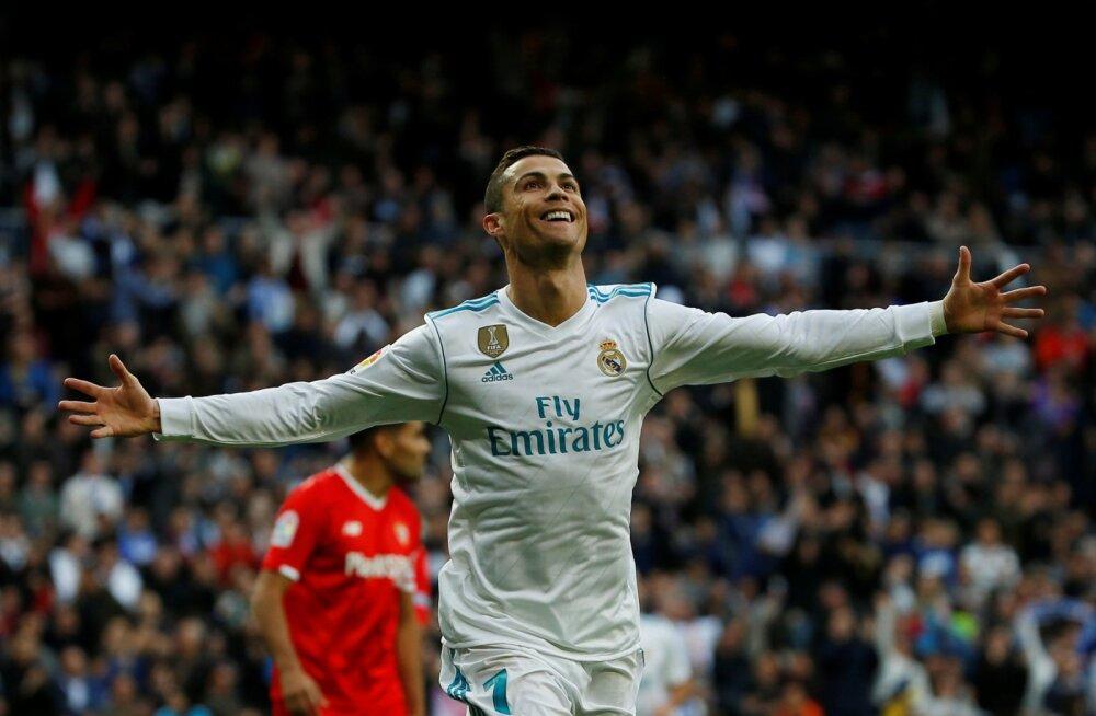 Ronaldo tähistas viiendat Ballon d'Ori väravapeoga, ohvriks Liverpooli alagrupikaaslane