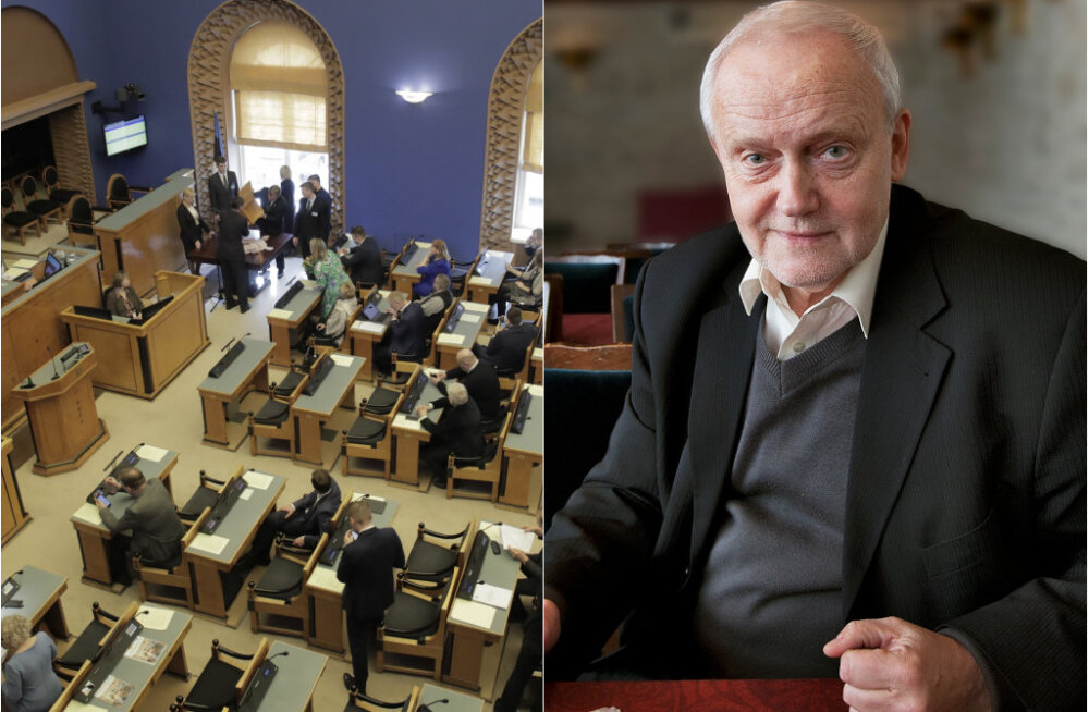 """Jaak Allik: riigikogus võiks alaliselt palgal olla vaid 31 saadikut, ülejäänud 70 jätkaku põhitööl! See tooks edu ka liikumisele """"Eesti 200"""""""