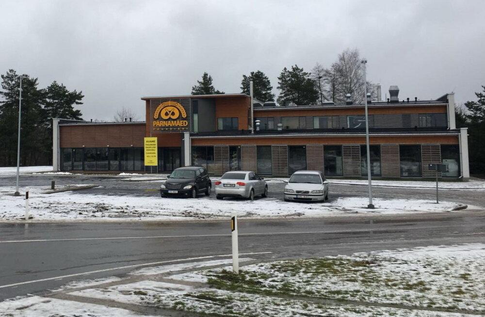 Lätlaste pagariäri avas täna Pärnu lähedal oma kohvik-pood-tootmishoone