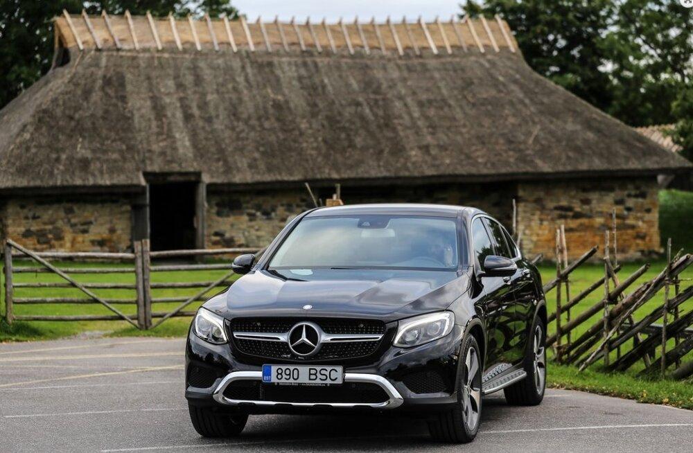 Mercedes-Benz GLC Coupé: silmatorkav ja ihaldusväärne kupeemaastur