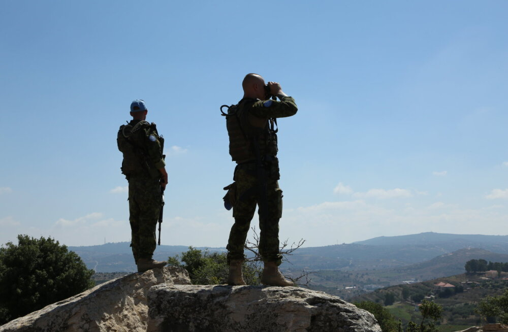 Estpla-25 jätkab teenistust Liibanoni ja Iisrael vahelise kontrolljoonel