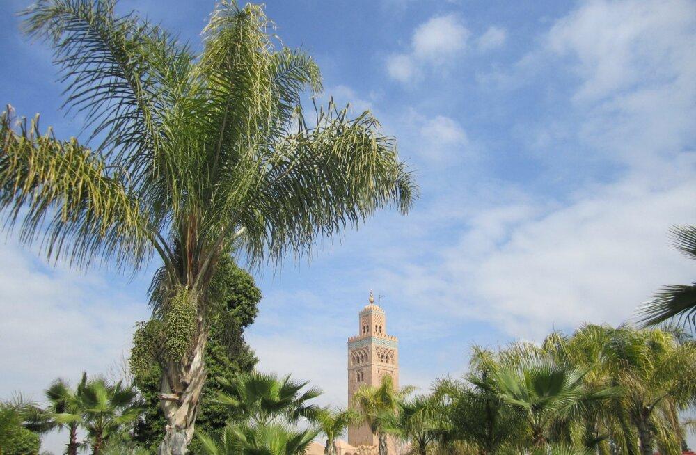 Reisi eksootilisse Aafrikasse! Edasi-tagasi lennud Helsingist Marrakechi vaid 160 eurot