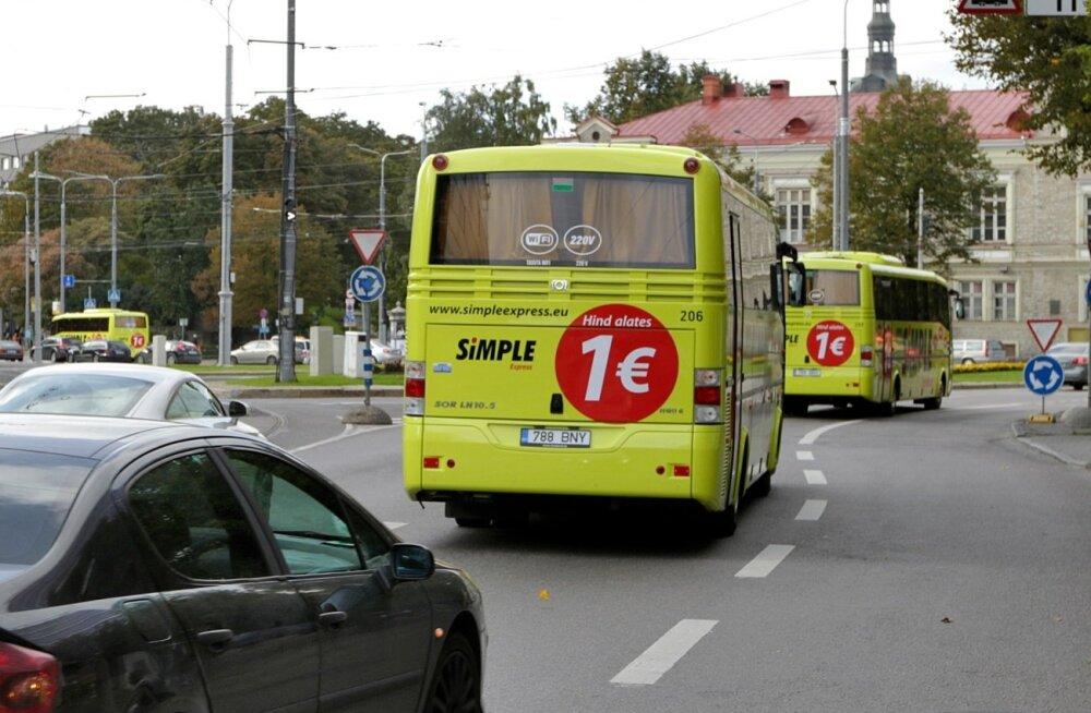 Heade mõtete linn Tartu: bussijänesed peitsid end pagasiruumi