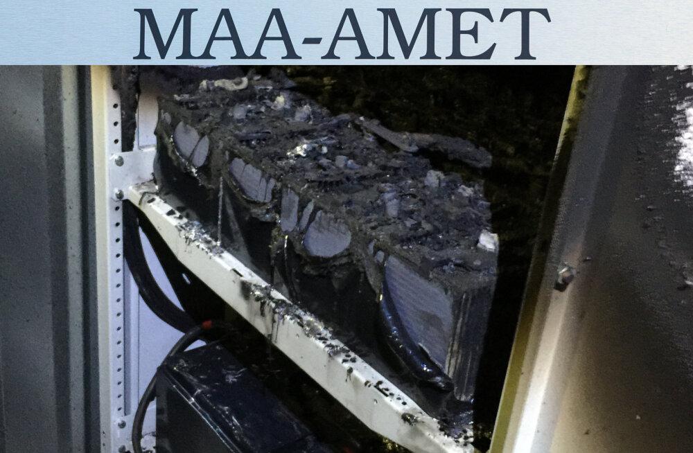 MÄRGUKIRI | Maa-ameti serveriruumi põlengu tagajärjel püsib endiselt kõrge teenuste seiskumise oht