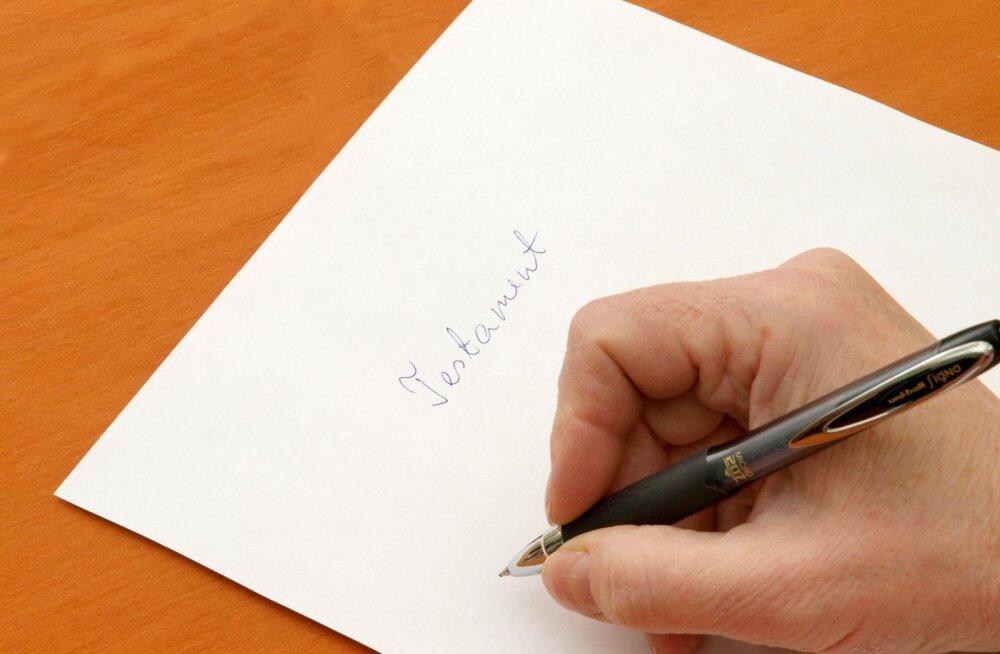 Kuidas kodust testamenti pikendada?