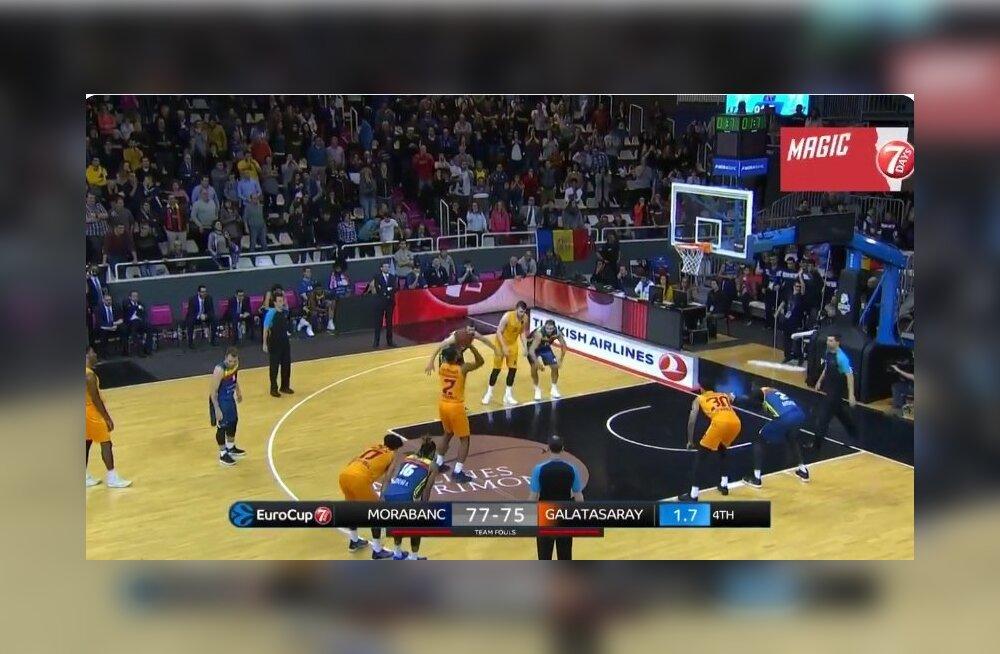 EuroCupi kohtumine Andorra MoraBanc - Galatasaray