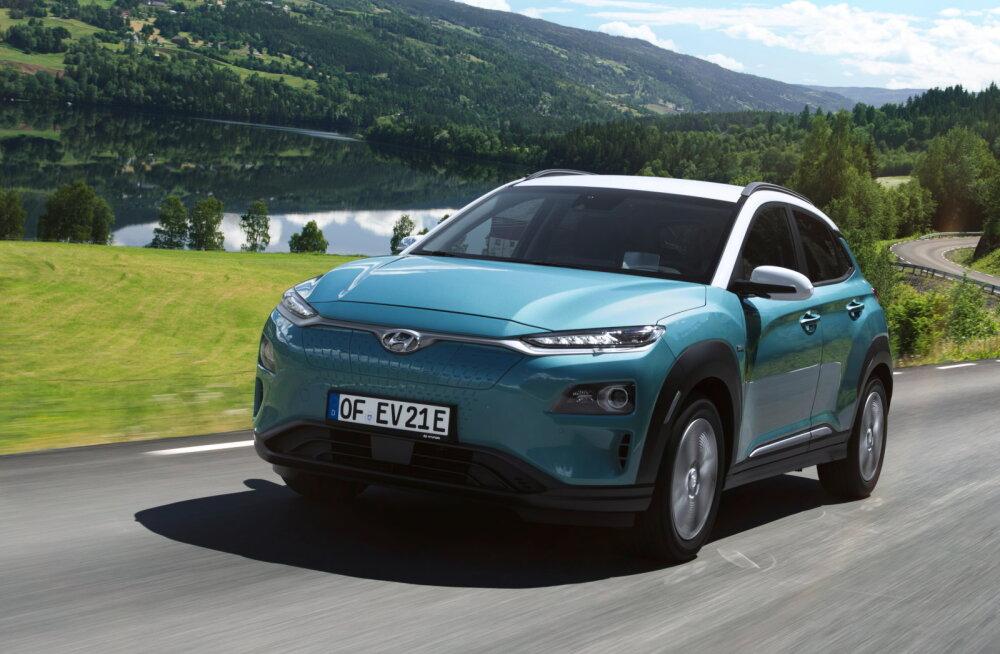 Proovisõit: elektriline Hyundai Kona poolele teele seisma ei jää!