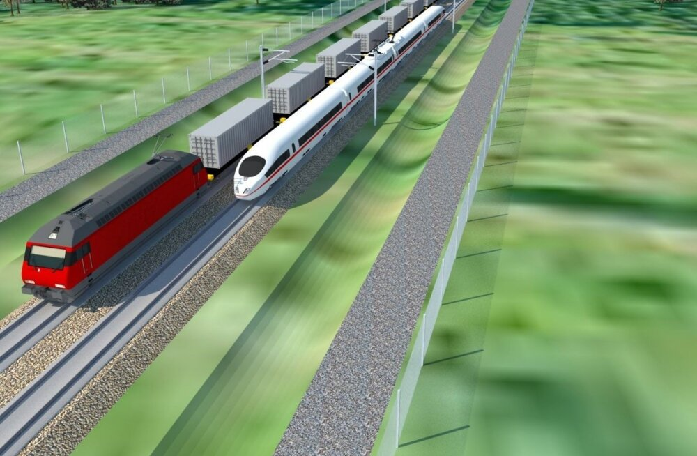 Megaprojekt Rail Baltic võib taas käima tõmmata maadevahetuse