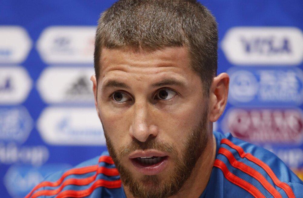 Sergio Ramos toetab uut Hispaania koondise peatreenerit