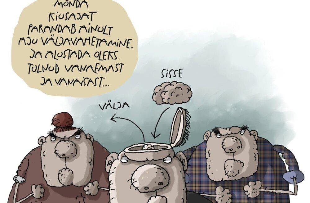 Karikatuur. Koolikiusamine