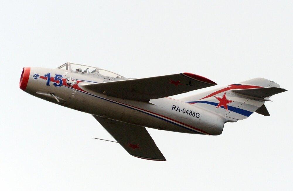 Ka Venemaa õhujõududel on veel alles mõned MiG-15 eksemplarid, mida demonstreeritakse pidulikel üritustel.